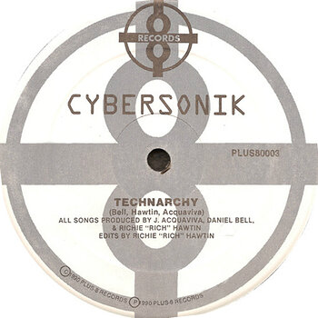 Cover art - Cybersonik: Technarchy