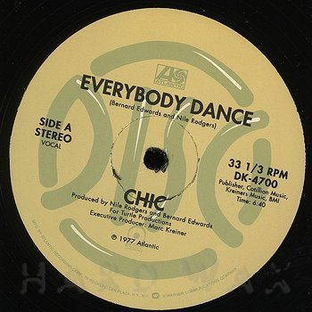 Cover art - Chic: Everybody Dance