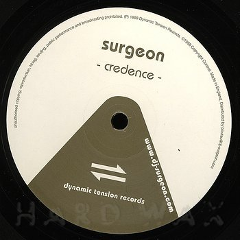 Cover art - Surgeon: Credence