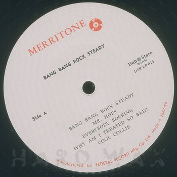 Cover art - Various Artists: Merritone Rock Steady 3: Bang Bang Rock Steady 1966-1968
