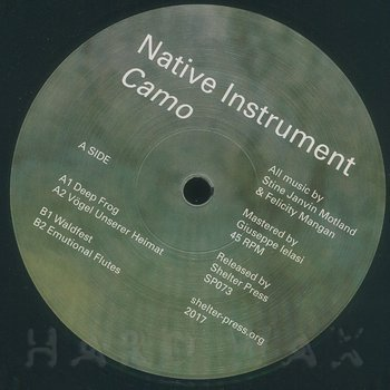 Cover art - Native Instrument: Camo