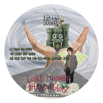 Cover art - Lord Pusswhip: The Hand of Glory EP