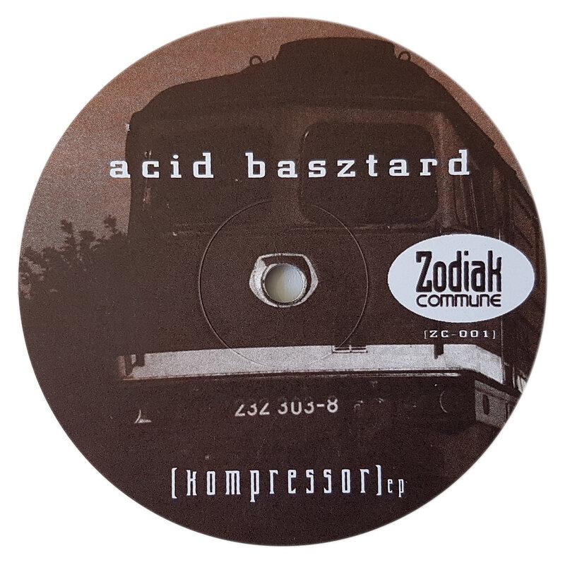 Cover art - Acid Basztard: Kompressor EP