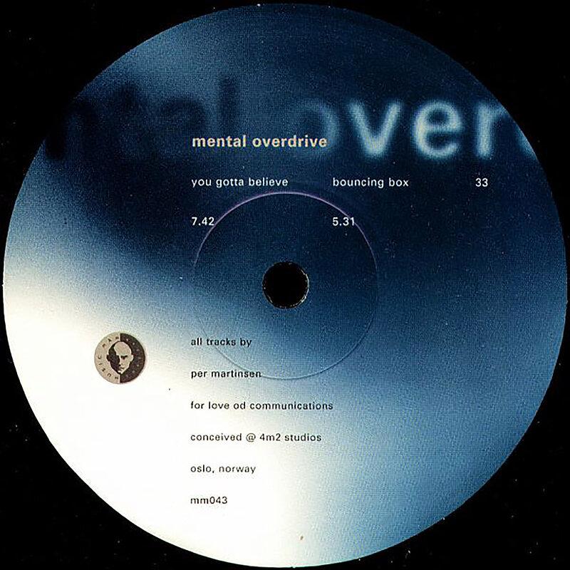 Cover art - Mental Overdrive: You gotta believe