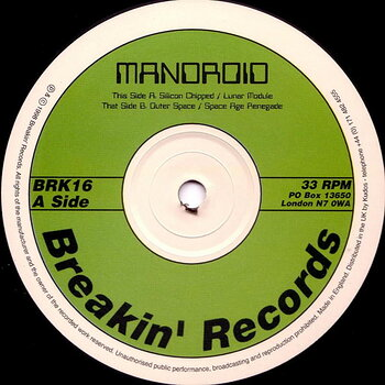 Cover art - Mandroid: Silicon Chipped