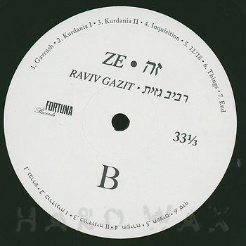 Cover art - Raviv Gazit: Ze