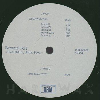 Cover art - Bernard Fort: Fractals / Brain Fever