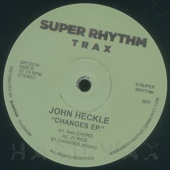 Cover art - John Heckle: Changes EP