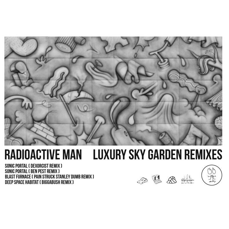 Cover art - Radioactive Man: Luxury Sky Garden