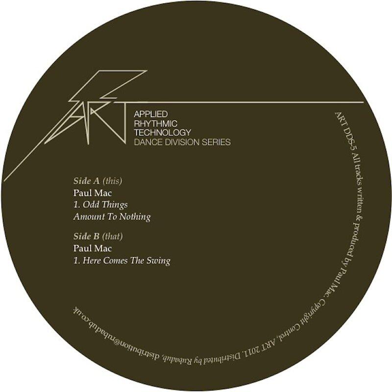 Cover art - Paul Mac: Odd Things EP