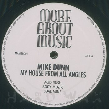 Cover art - Mike Dunn: My House From All Angles