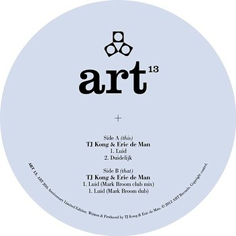 Cover art - TJ Kong & Eric De Man: Luid EP
