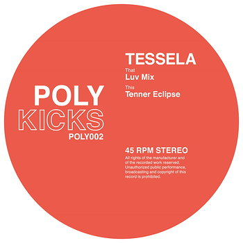 Cover art - Tessela: Luv Mix