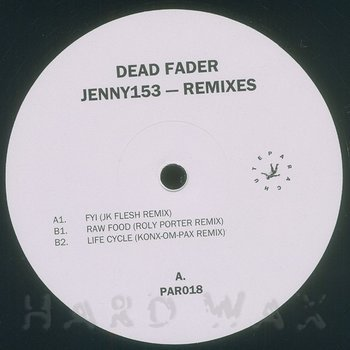 Cover art - Dead Fader: Jenny 153 Remixes