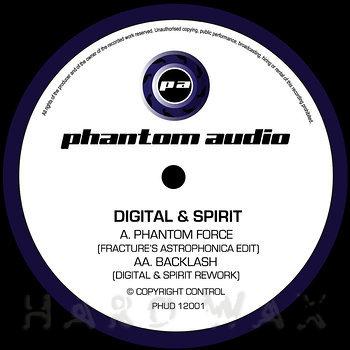 Cover art - Digital & Spirit: Phantom Force / Backlash Remixes