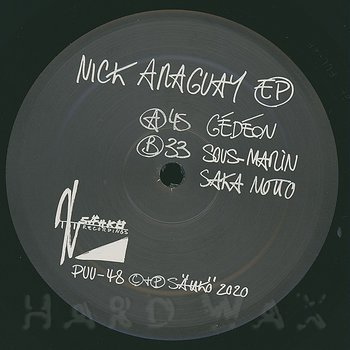 Cover art - Nick Araguay: EP