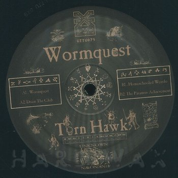 Cover art - Torn Hawk: Wormquest EP