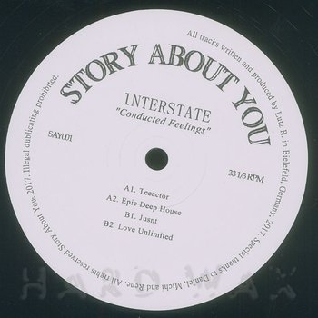 Cover art - Interstate: Conducted Feelings