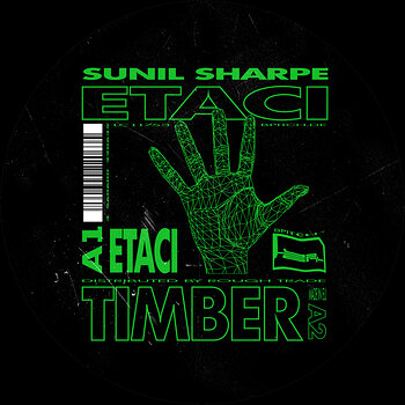 Cover art - Sunil Sharpe: Etaci