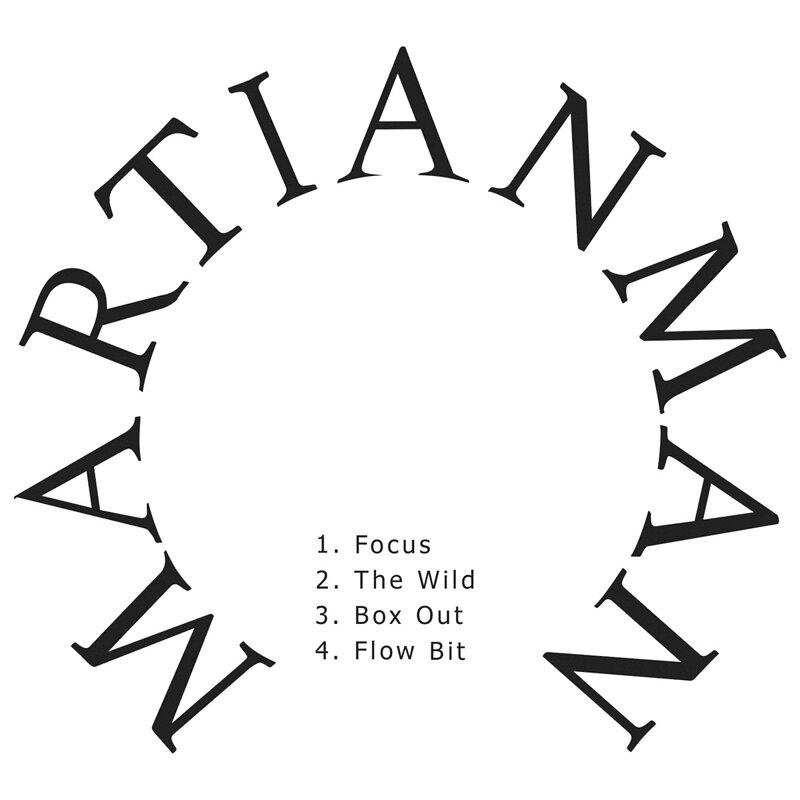 Cover art - Martian Man: Focus
