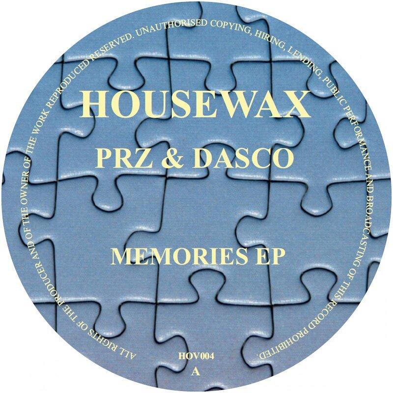 Cover art - PRZ & Dasco: Memories EP