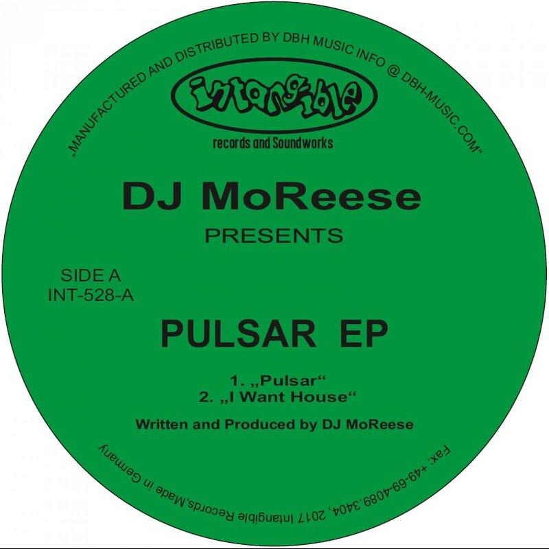 Cover art - DJ MoReese: Pulsar EP