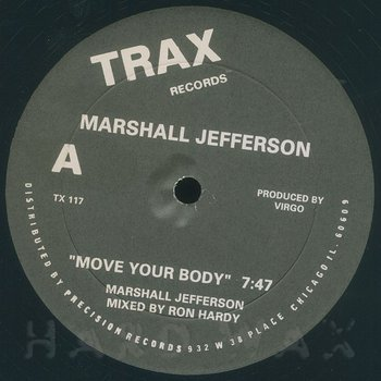Cover art - Marshall Jefferson: Move Your Body