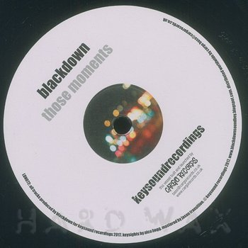 Cover art - Blackdown: Those Moments