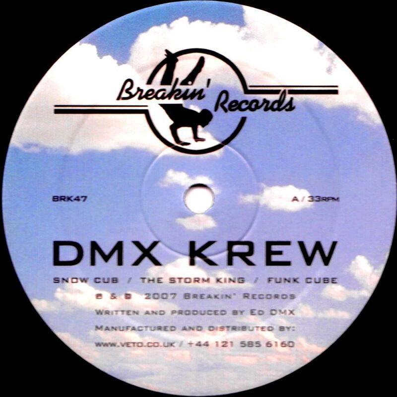 Cover art - DMX Krew: Snow Cub