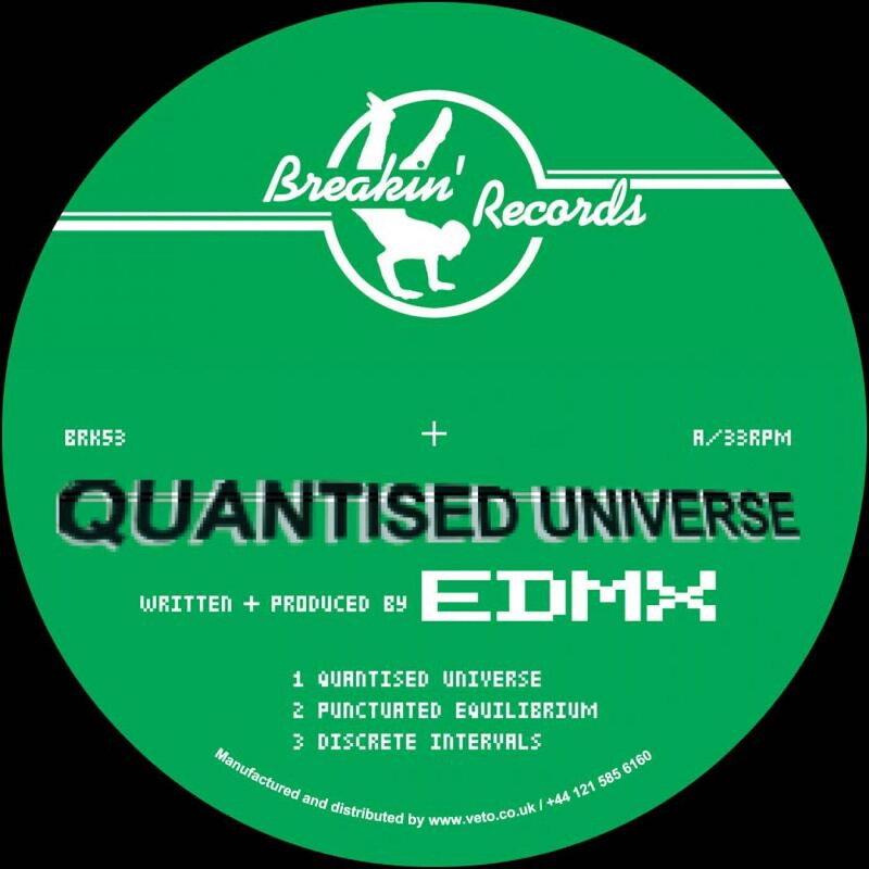 Cover art - EDMX: Quantised Universe