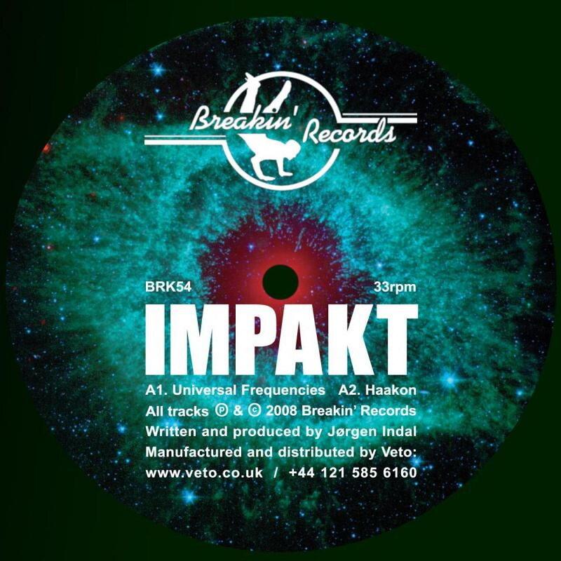 Cover art - Impakt: Universal Frequencies