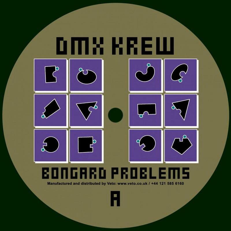 Cover art - DMX Krew: Bongard Problems