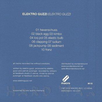 Cover art - Elektro Guzzi: Elektro Guzzi
