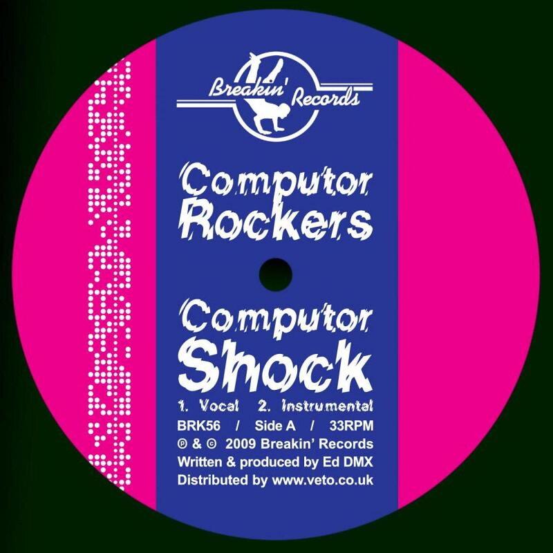Cover art - Computor Rockers: Computor Shock