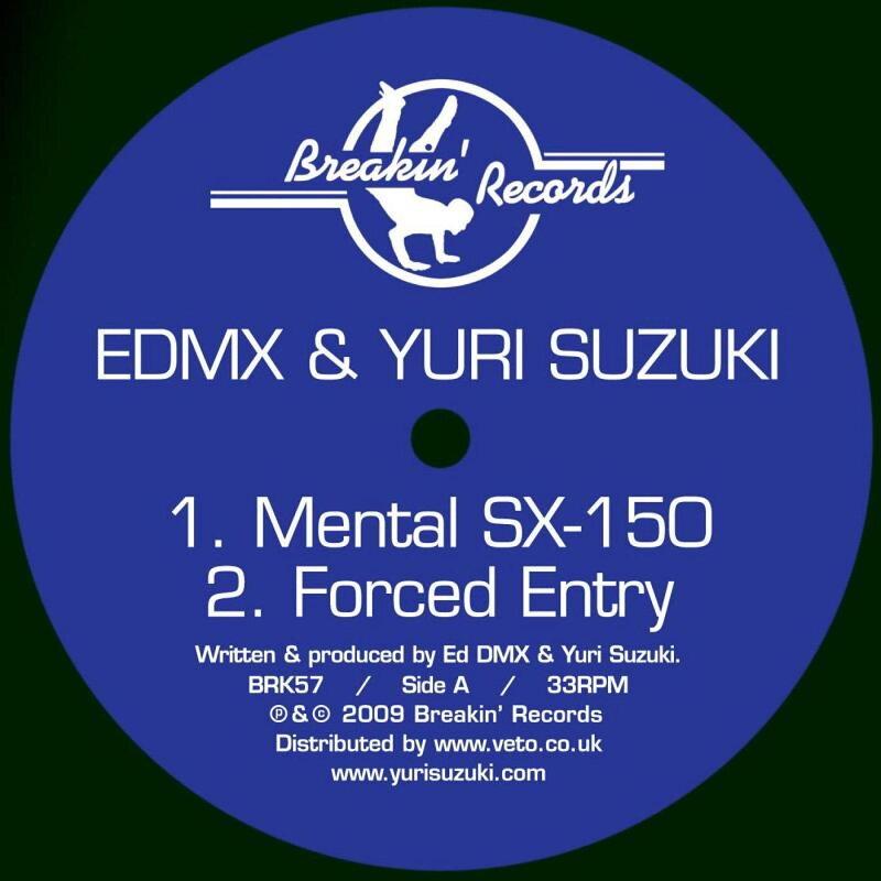 Cover art - EDMX & Yuri Suzuki & EDMX & Qwerty: Mental SX-150 / Con Solid Ate