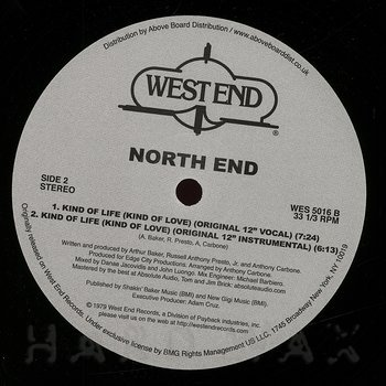 Cover art - North End: Kind of Life (Kind of Love)