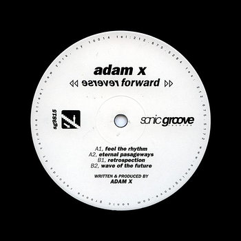 Cover art - Adam X: Reverse Forward