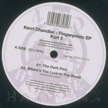 Cover art - Kerri Chandler: Finger Printz 2 EP