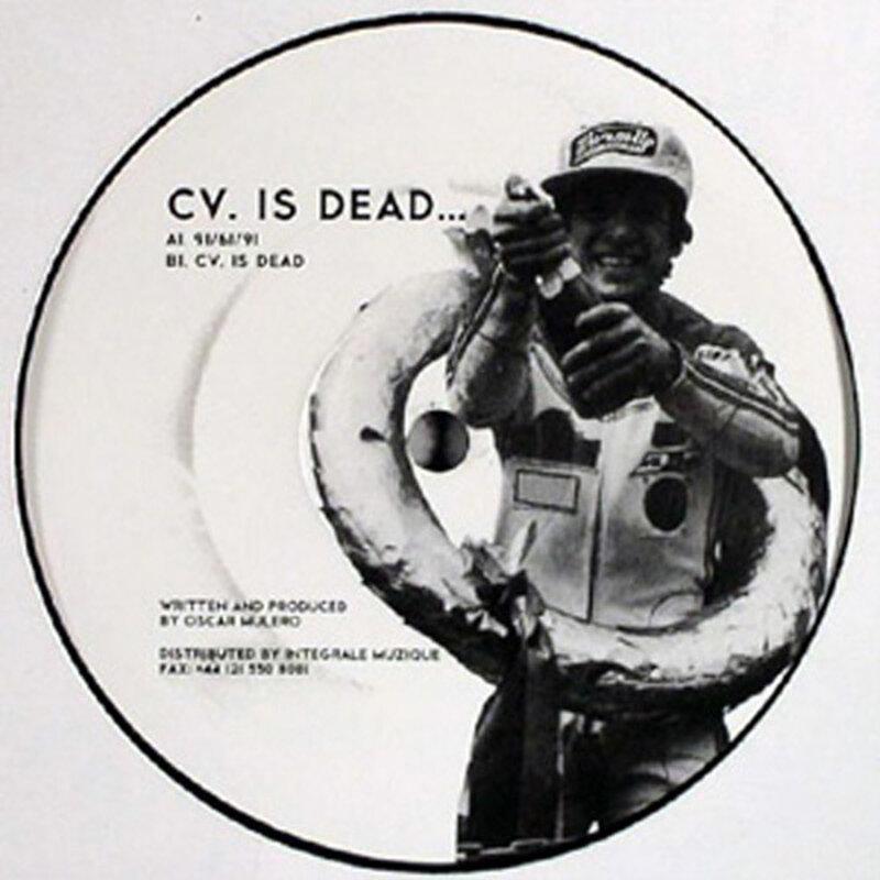 Cover art - Oscar Mulero: CV. Is Dead...