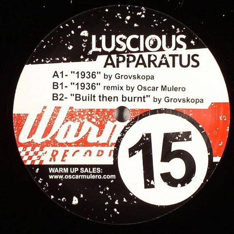 Cover art - Grovskopa: Luscious Apparatus