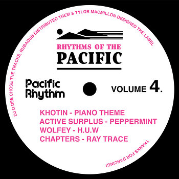 Cover art - Various Artists: Rhythms Of The Pacific Volume 4