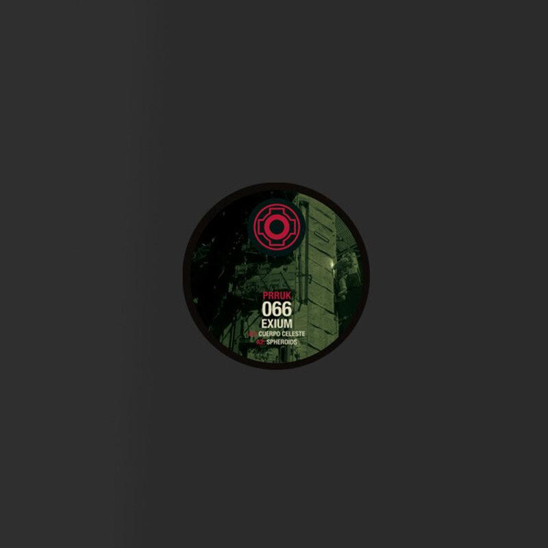 Cover art - Exium: Cuerpo Celeste EP