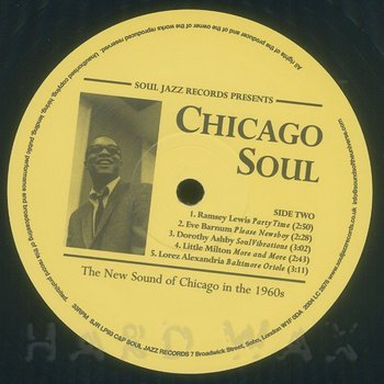 Cover art - Various Artists: Chicago Soul: Electric Blues, Funk and Soul: The New Sound of Chicago in the 1960s