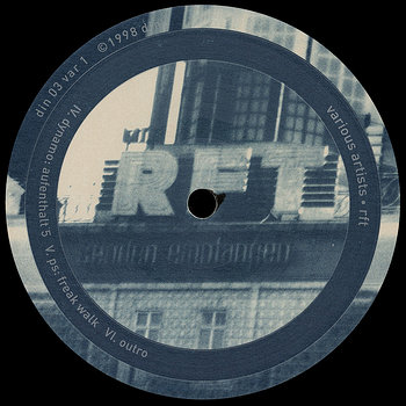Cover art - Various Artists: RFT
