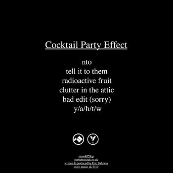 Cover art - Cocktail Party Effect: Radioactive Fruit