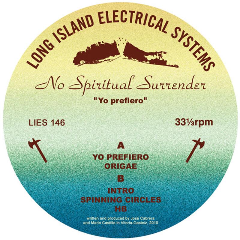 Cover art - No Spiritual Surrender: Yo Prefiero