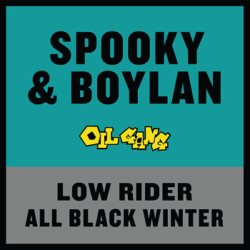 Cover art - Spooky Bizzle and Boylan: Low Rider / All Black Winter