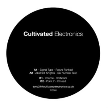 Cover art - Various Artists: Cultivated Electronics EP001