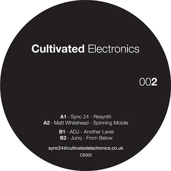 Cover art - Various Artists: Cultivated Electronics EP002