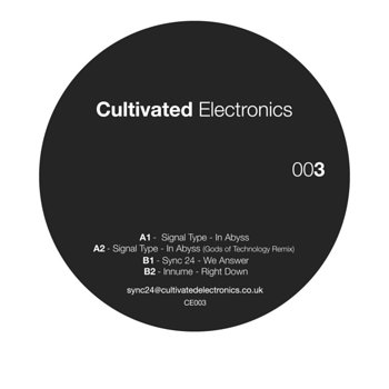 Cover art - Various Artists: Cultivated Electronics EP003